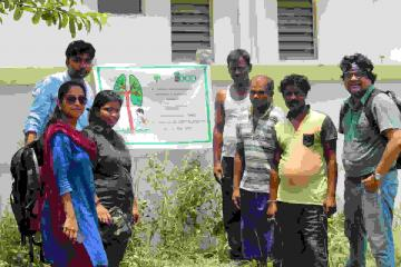 Plantation at HIDCO