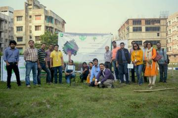 Tree Plantation Drive with Lexmark (International) India Pvt. Ltd.