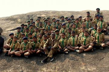 Prakriti Pathshala with Boy Scouts of Bengal