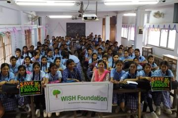 Save The Frogs! at Noapara Rashbehari Institution for Girls Higher Secondary School, Barasat
